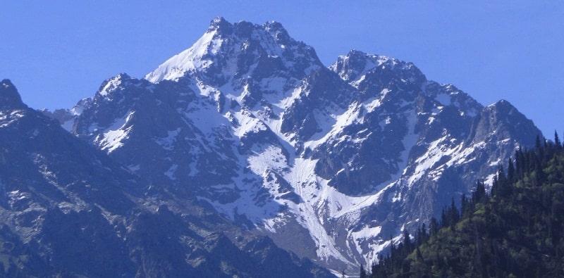 Peak of Abay.