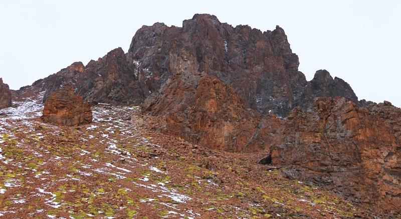 Amangeldy peak.
