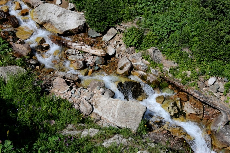River Gorelnik in North Tien-Shan.