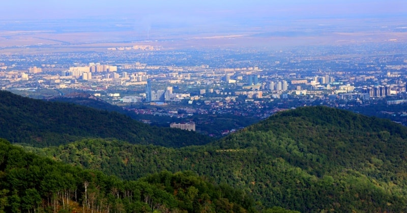 Sights of the valley of Kok-Zhaylyau and vicinity.