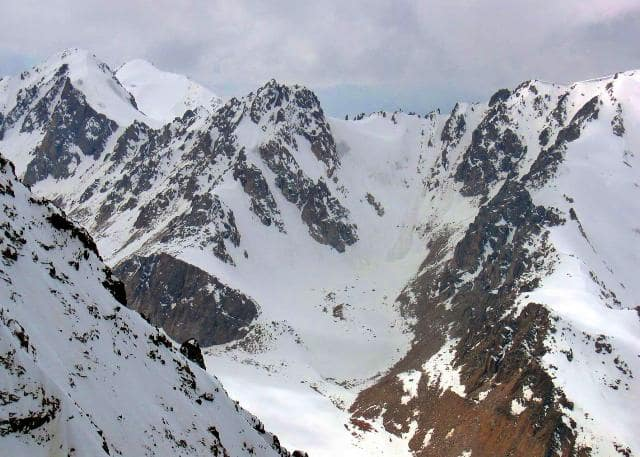 Ледник Зои Космодемьянской.