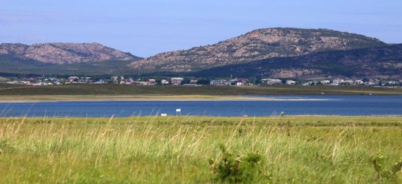 Environs of Bolshoe the lake.