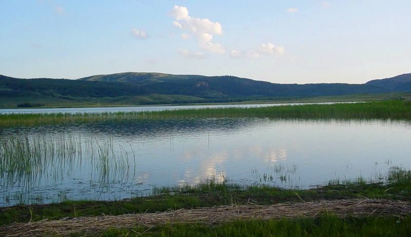 Большое Щучье озеро.