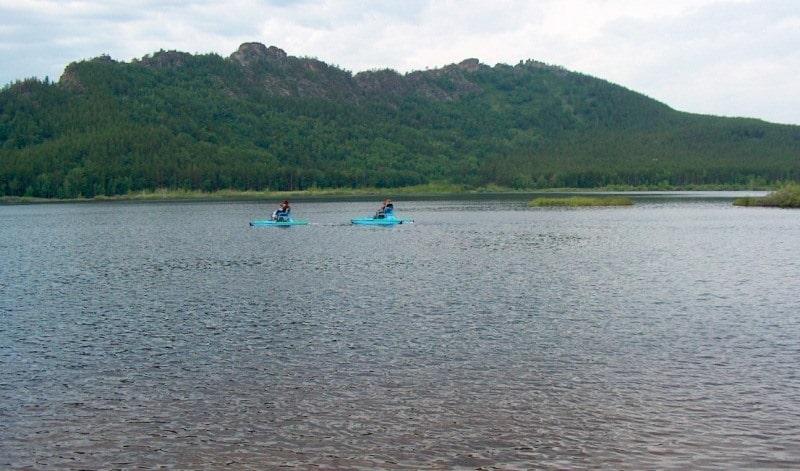 Pashennoye lake in Karkaraly.