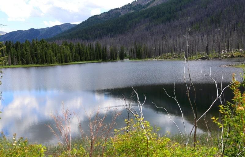 Озеро Арасан и его окрестности.