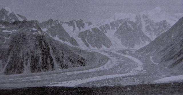 Гора Белуха на Алтае. Фотография начала XX века.