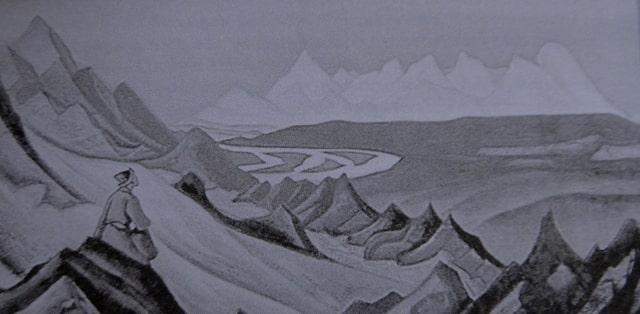 Рисунок Николая Рериха.
