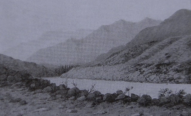 Горный пейзаж на Алтае.