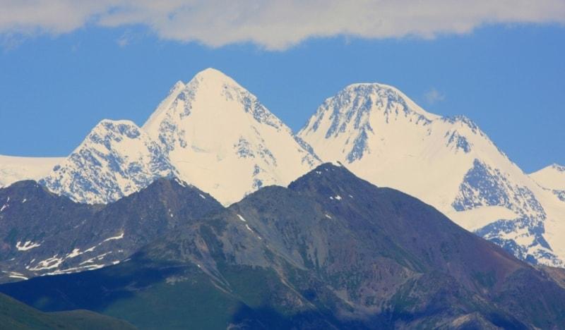 Mountain Belukha.