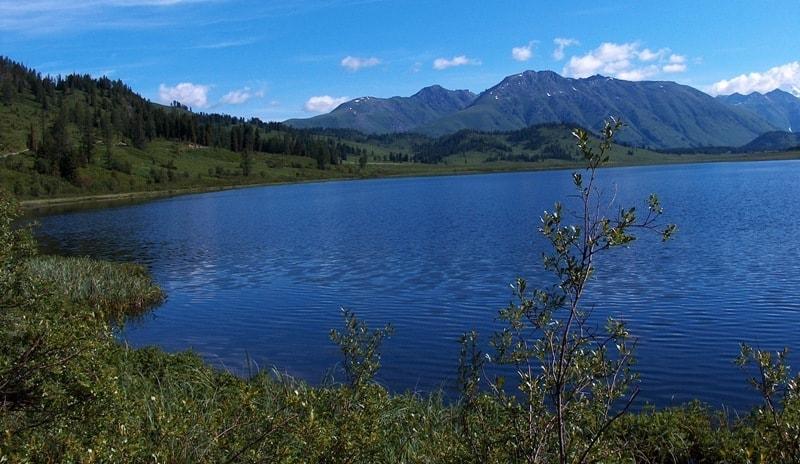 Yazevoe lake.