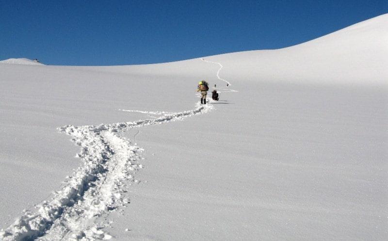 Окрестности Малого Берельского ледника.