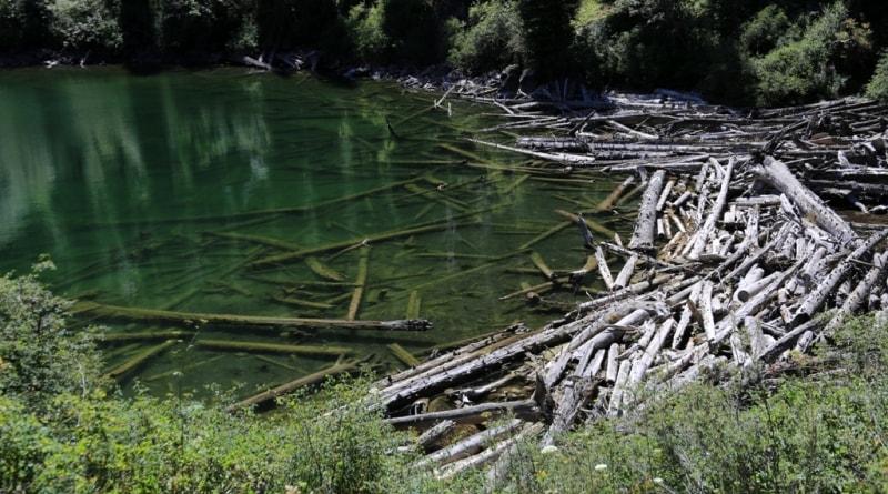 Озеро Средний Кольсай.