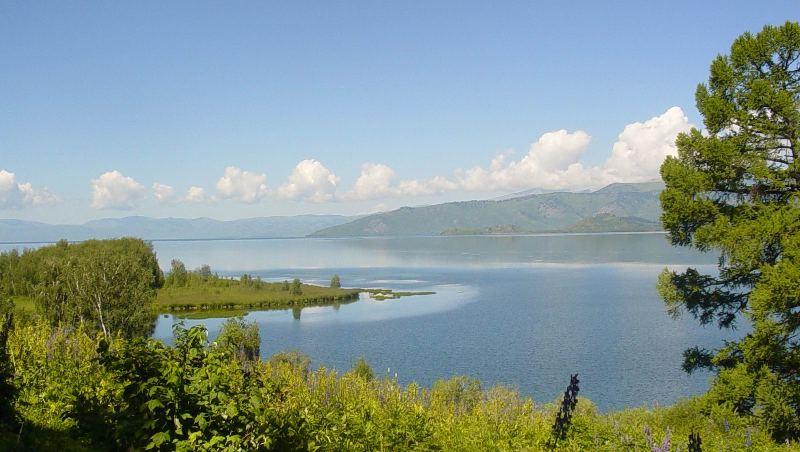 Markakol nature reserve.