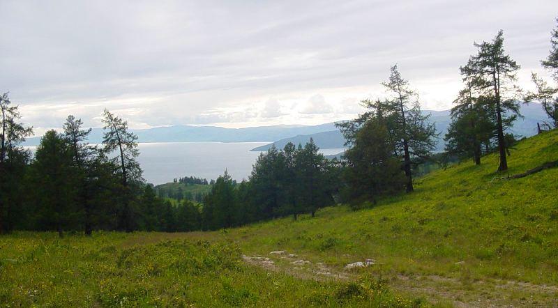 Вид на озеро Маркаколь.