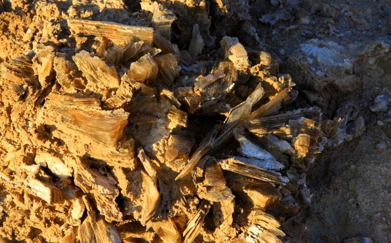 Geology of reserve Ustyrt.