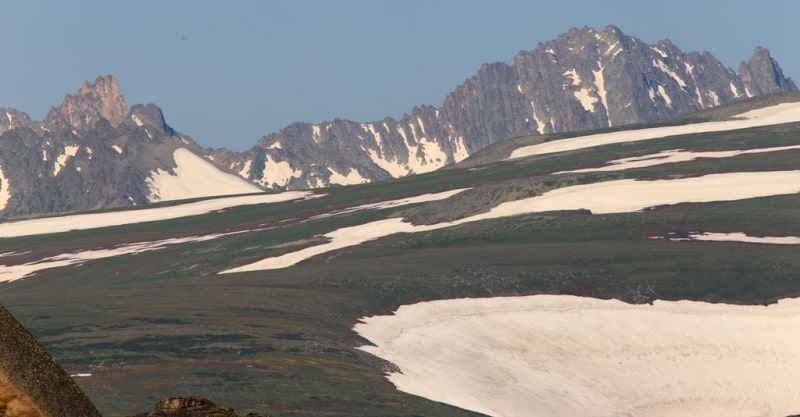 The valley Black Uzel in West Altai Reserve.