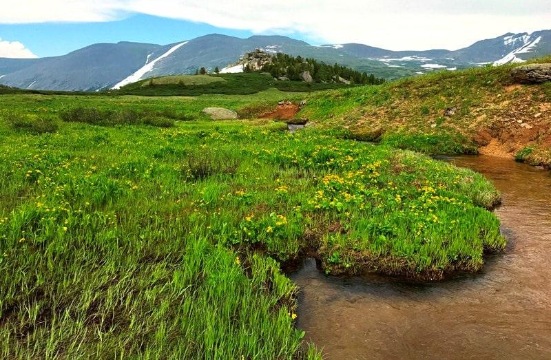 Природные достопримечательности Западно-Алтайского заповедника.