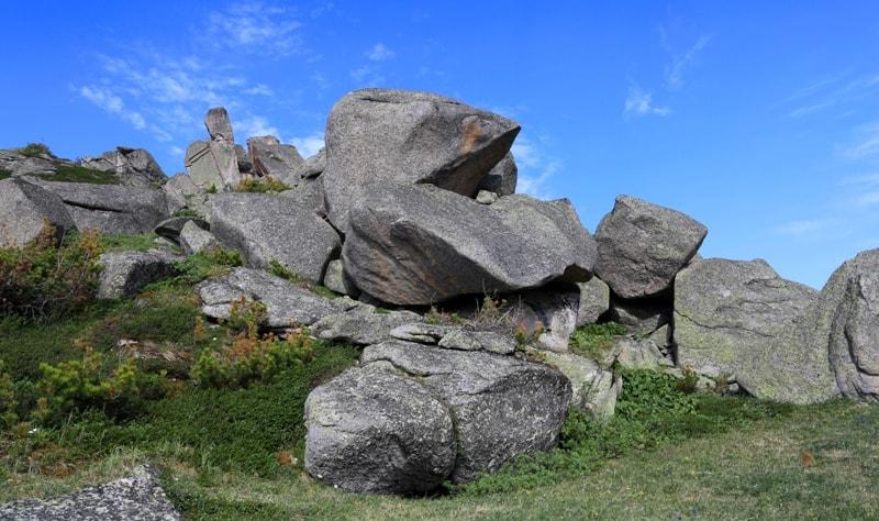 Урочище Каменная сказка в Западно-Алтайском заповеднике.