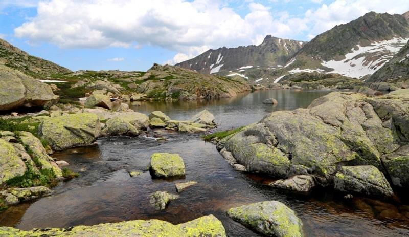 Третье Тургусунское озеро и его окрестности.