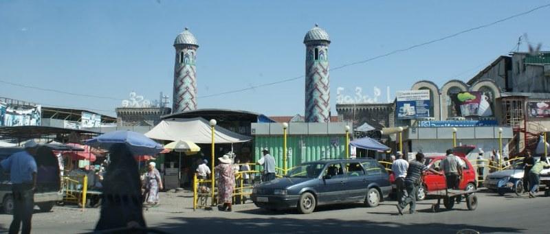 Town market.