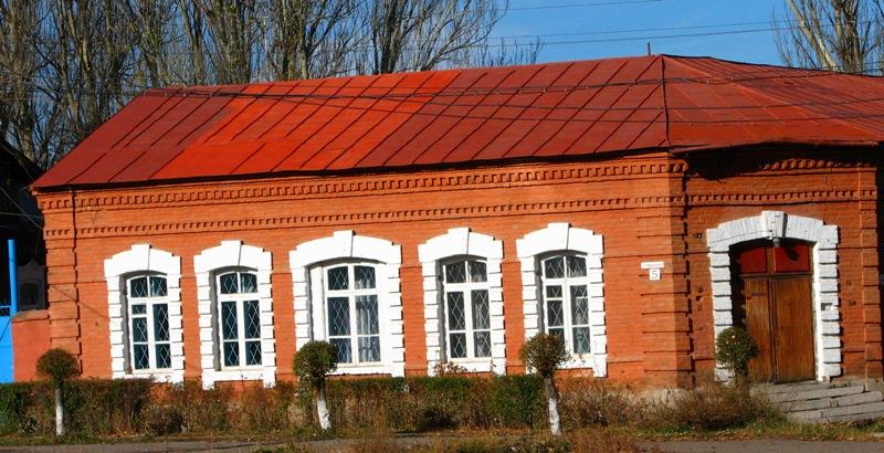 Дом в центре Каркола используемый в коммерческих целях, недалеко от краеведческого музея.