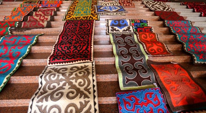 Folk art of Kyrgyz.