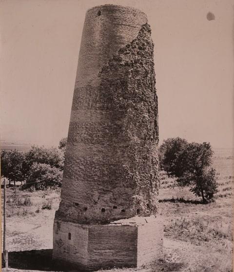 Башня Бурана после частичной реконструкции. 1927-1928 годы.