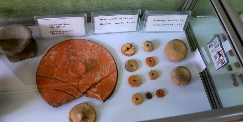 В залах музея Башня Бурана.