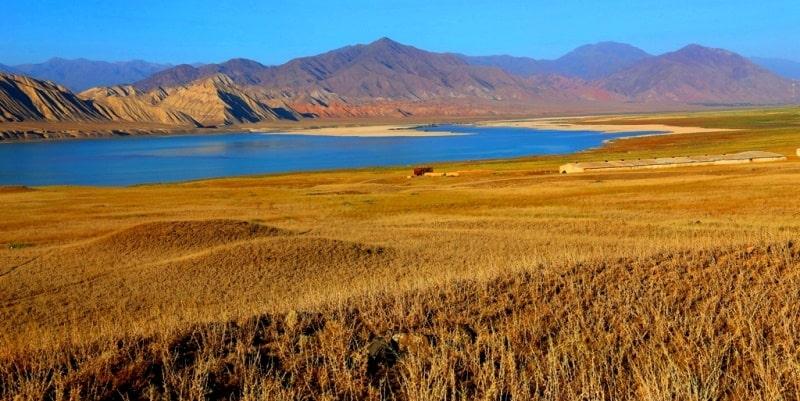 Toktogul Reservoir and its sights.