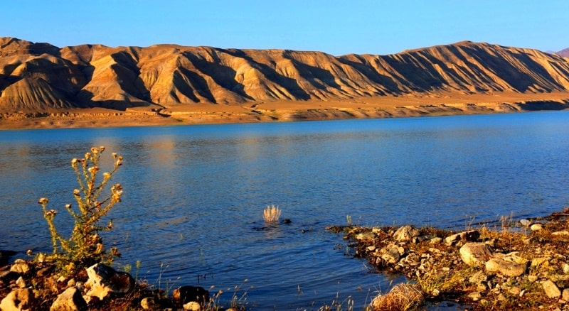 Токтогульское водохранилище и его достопримечательности.