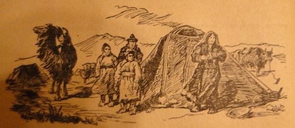 Travels Roborovsky in Tien Shan.