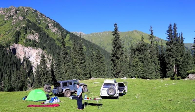 Курорт Алтын-Арасан и его окрестности.