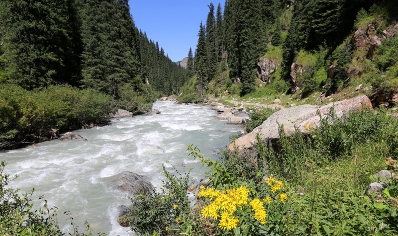 Окрестности реки и ущелья Арасан.
