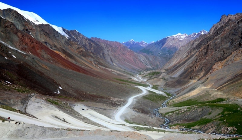 The Barskoon pass and environs.