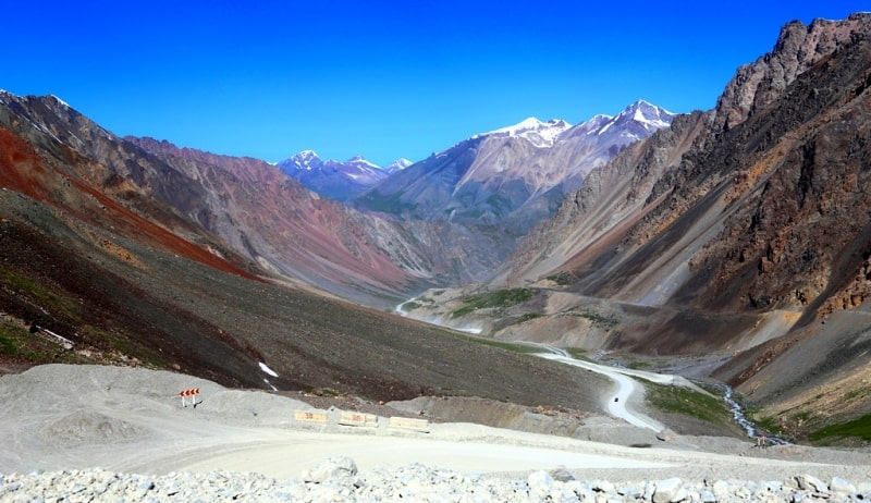The Barskoon pass and environs..