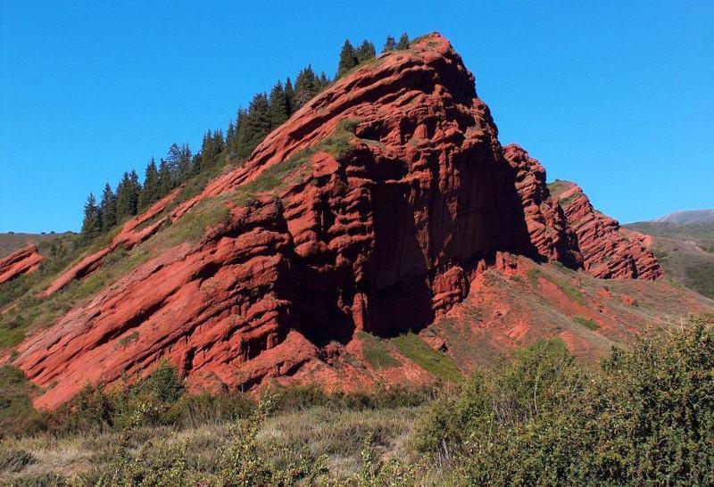 Sights the gorge of Dzhety-Oguz.