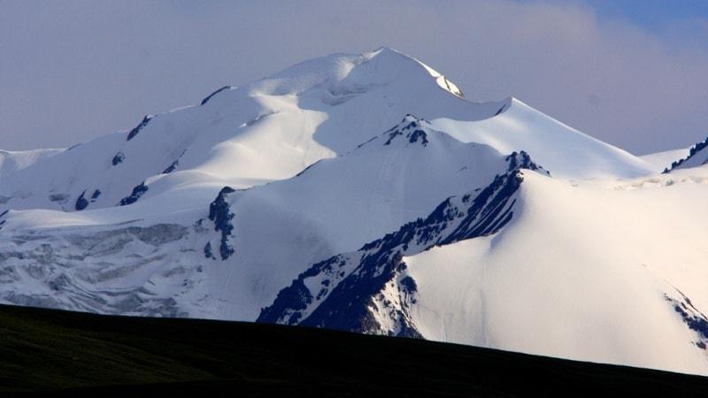 Kaiyndy glacier.