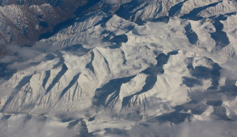 Environs and sights of peak of Khan-Tengri and the Central Tien-Shan.