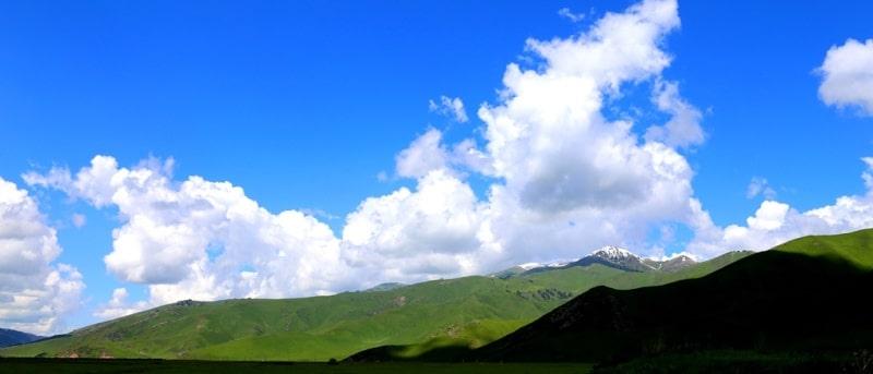 Перевал Санташ и окрестности.
