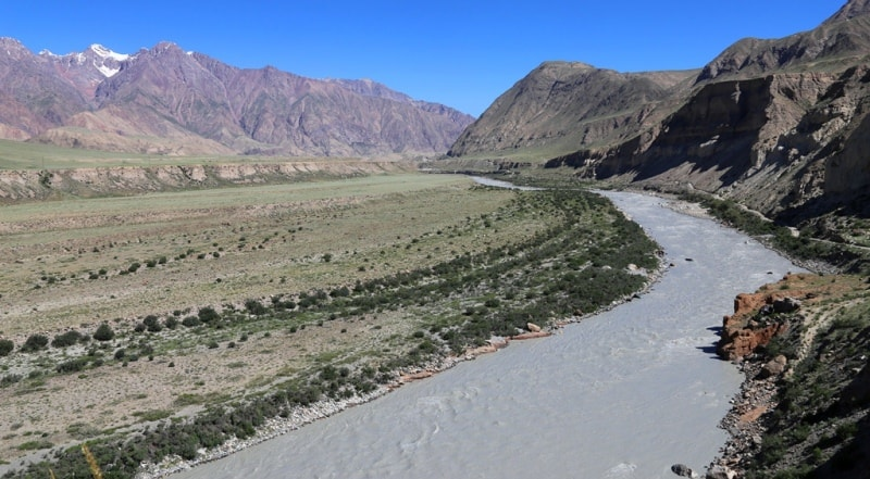 Река Сары-Джаз.