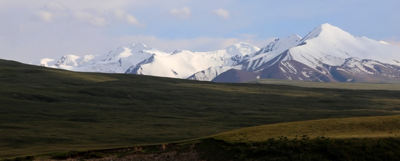 Верховья ущелье Сары-Джаз.