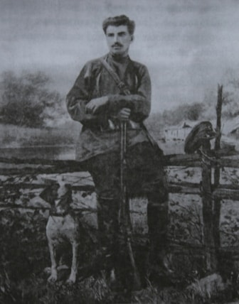 Przhevalskiy on hunting.