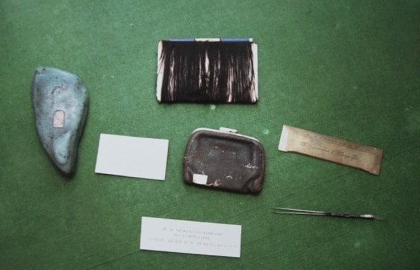 Personal belongings of Przhevalskiy.