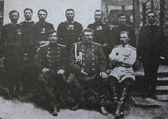 Przhevalsky among friends.