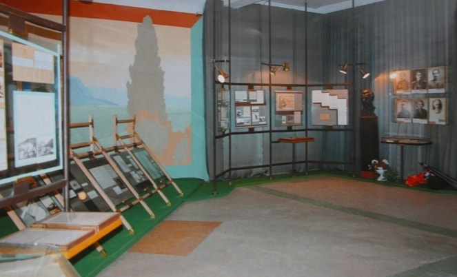 In Przhevalsky's museum in 12 kilometers to the north from the city of Karakol.