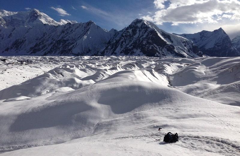 Ледник Южный Иныльчек.
