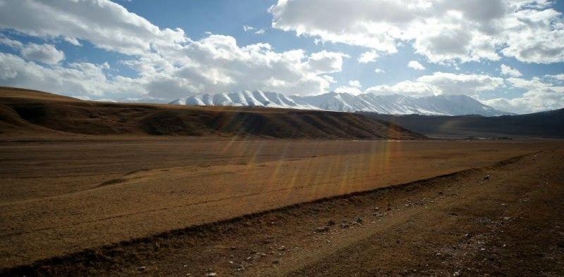 В долине Ат-Баши.
