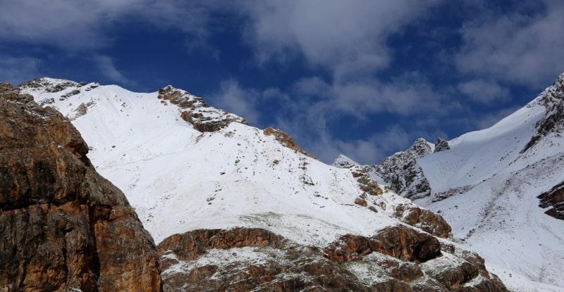 Горы Заалайского хребта.