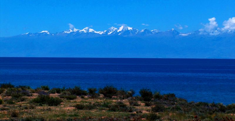 Lake Issyk Kul.