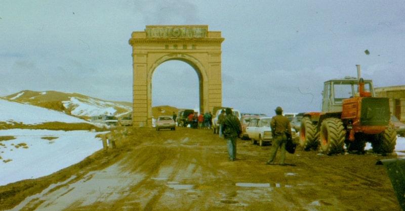 Окрестности перевал Торугарт.